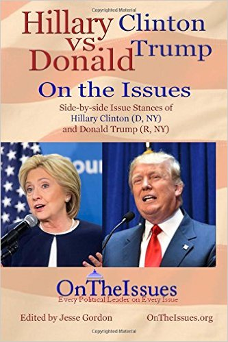Trump V Clinton On Education Issues >> Donald Trump On The Issues