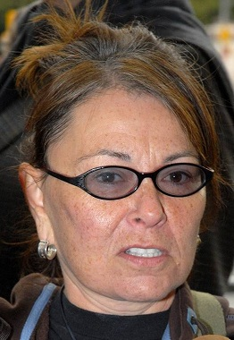 Peace and Freedom Party candidate Roseanne Barr